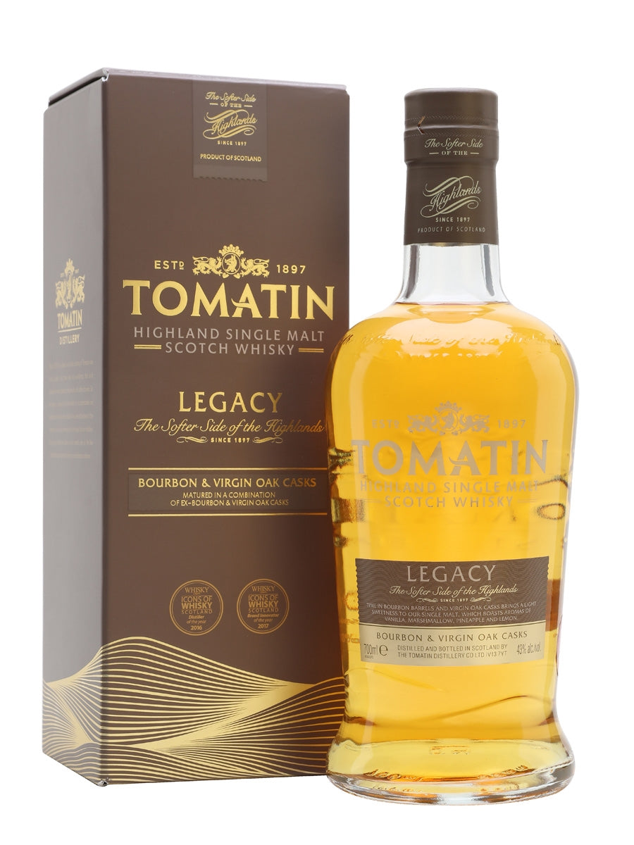 Tomatin Dualchas Bourbon & Virgin Oak Casks