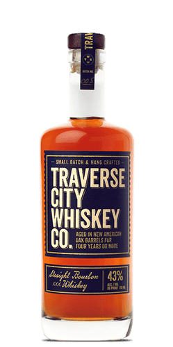 Traverse City Whiskey Co. Straight Bourbon Whisky (750ml bottle)