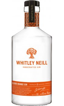 Whitley Neill Blood Orange Gin (750ml Bottle)