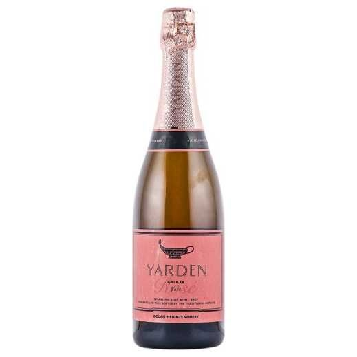 Yarden Golan Heights Brut Rose 2012 Kosher Champagne - (750ml)