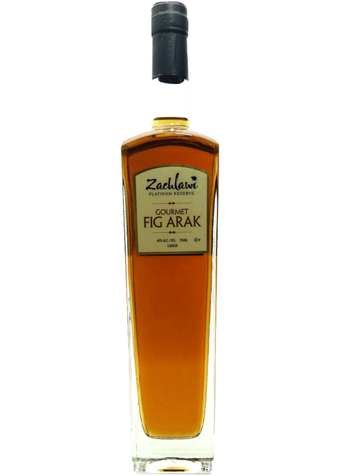 Zachlawi Gourmet Fig Arak - (750ml Bottle)