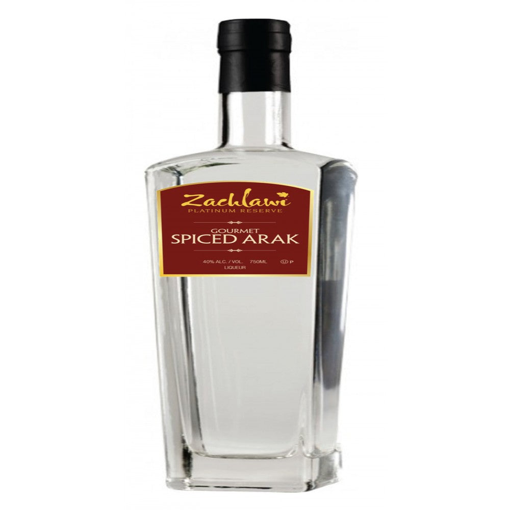 Zachlawi Gourmet Spiced Arak - (750ml Bottle)