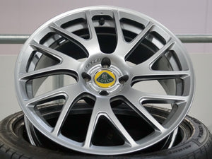 Lotus Forged alloy wheel finished in silver