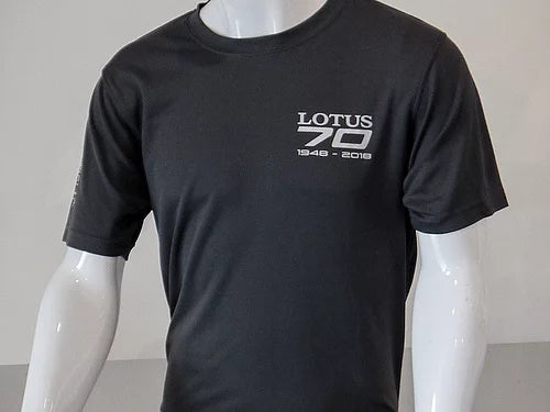 Grey T shirt Lotus 70th - SALE
