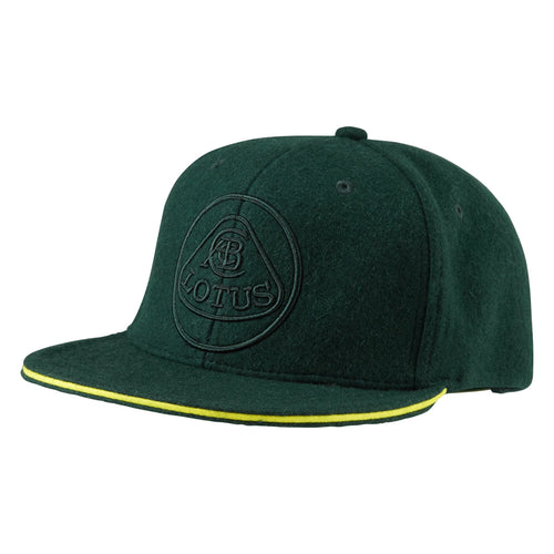 Green Adult Flat Peak Cap