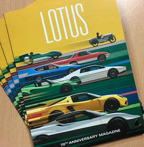 Lotus 70th Anniversary Magazine - SALE