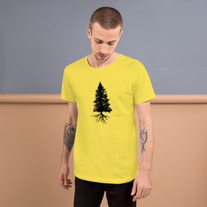 Fir Tree/ Quality Short-Sleeve Unisex T-Shirt