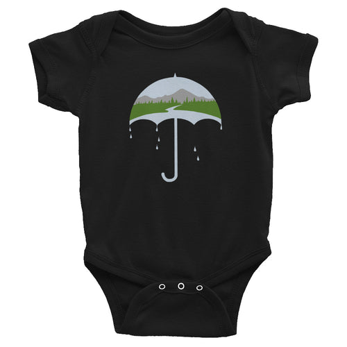 Pacific Northwest Umbrella/ Infant Bodysuit 6m-24m