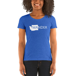 WA Wander Bella TShirt/  Quality Soft Ladies' short sleeve t-shirt