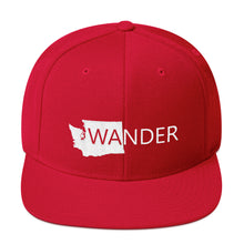 Load image into Gallery viewer, WA Wander Snapback Hat