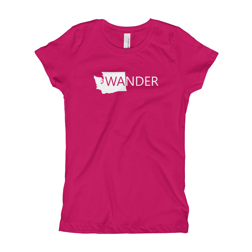 WA Wander Tee/ Quality Girl's T-Shirt XS-XL