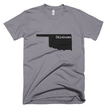 Load image into Gallery viewer, Oklahoma Premium Short Sleeve Unisex T-Shirt - State Name Collection (available in multiple colors)