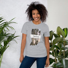 Load image into Gallery viewer, Indiana Floral Photo Short-Sleeve Unisex T-Shirt