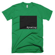 Load image into Gallery viewer, Wyoming Premium Short Sleeve Unisex T-Shirt - State Name Collection