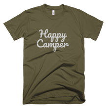 Load image into Gallery viewer, Happy Camper Premium Unisex T-Shirt (available in multiple colors)