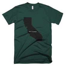 Load image into Gallery viewer, California Premium Short Sleeve Unisex T-Shirt - State Name Collection (available in multiple colors)