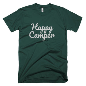 Happy Camper Premium Unisex T-Shirt (available in multiple colors)