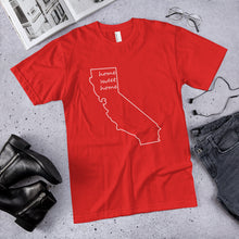 Load image into Gallery viewer, California home sweet home premium unisex t-shirt (available in multiple colors)