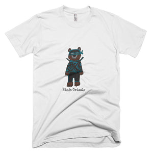 Ninja Grizzly Premium Unisex T-Shirt (available in multiple colors)