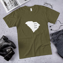 Load image into Gallery viewer, South Carolina Home Sweet Home Premium Unisex T-Shirt (available in multiple colors)