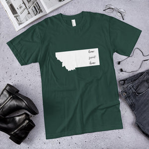 Montana Home Sweet Home Premium Unisex T-Shirt (available in multiple colors)