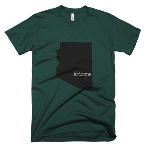 Forest Green Arizona T-shirt