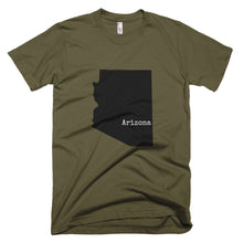 Load image into Gallery viewer, Army Green Arizona T-shirt