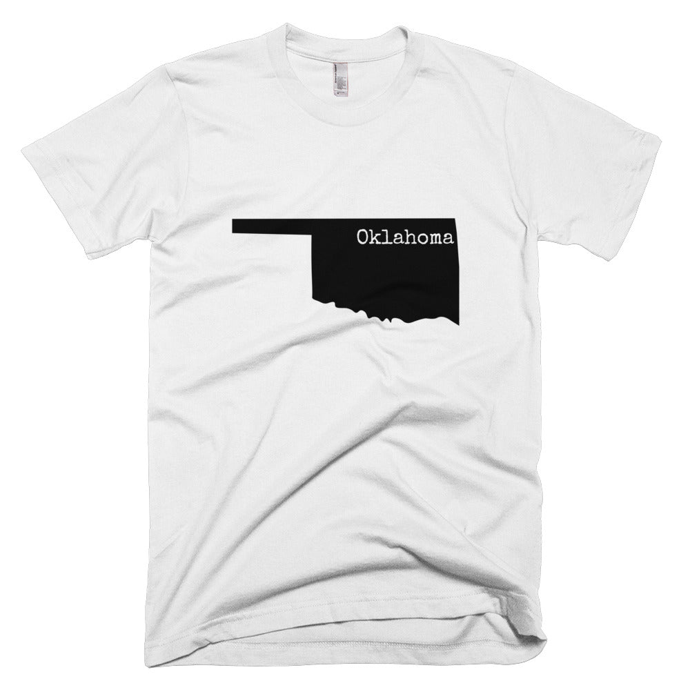 Oklahoma Premium Short Sleeve Unisex T-Shirt - State Name Collection (available in multiple colors)