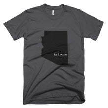 Load image into Gallery viewer, Charcoal Gray Arizona T-shirt