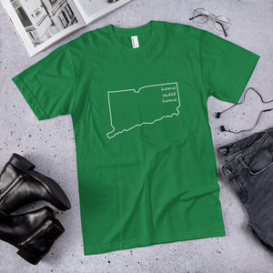 Connecticut Home Sweet Home Premium Unisex T-Shirt (available in multiple colors)