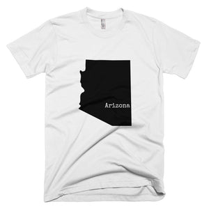 Silver Arizona T-shirt