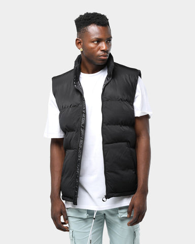 Pyra Sleeveless Padded Puffa Vest Black