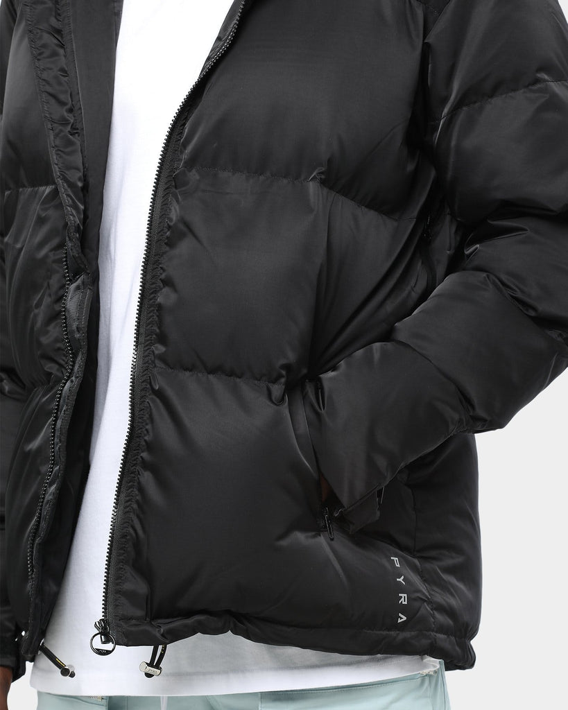 Pyra Padded Puffa Jacket Black