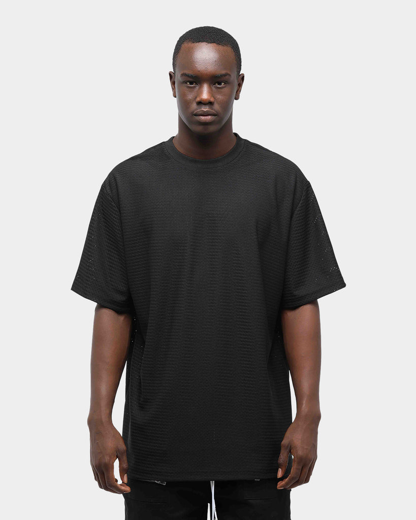 PYRA Ball Mesh Tee Black