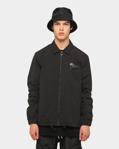 PYRA Zip Coach Jacket Black