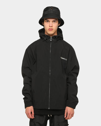 PYRA Zip Hooded Jacket Black
