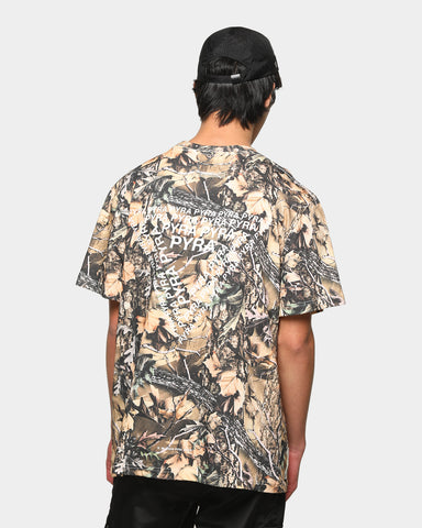 PYRA Men's Camo Field Short Sleeve T-Shirt Camo