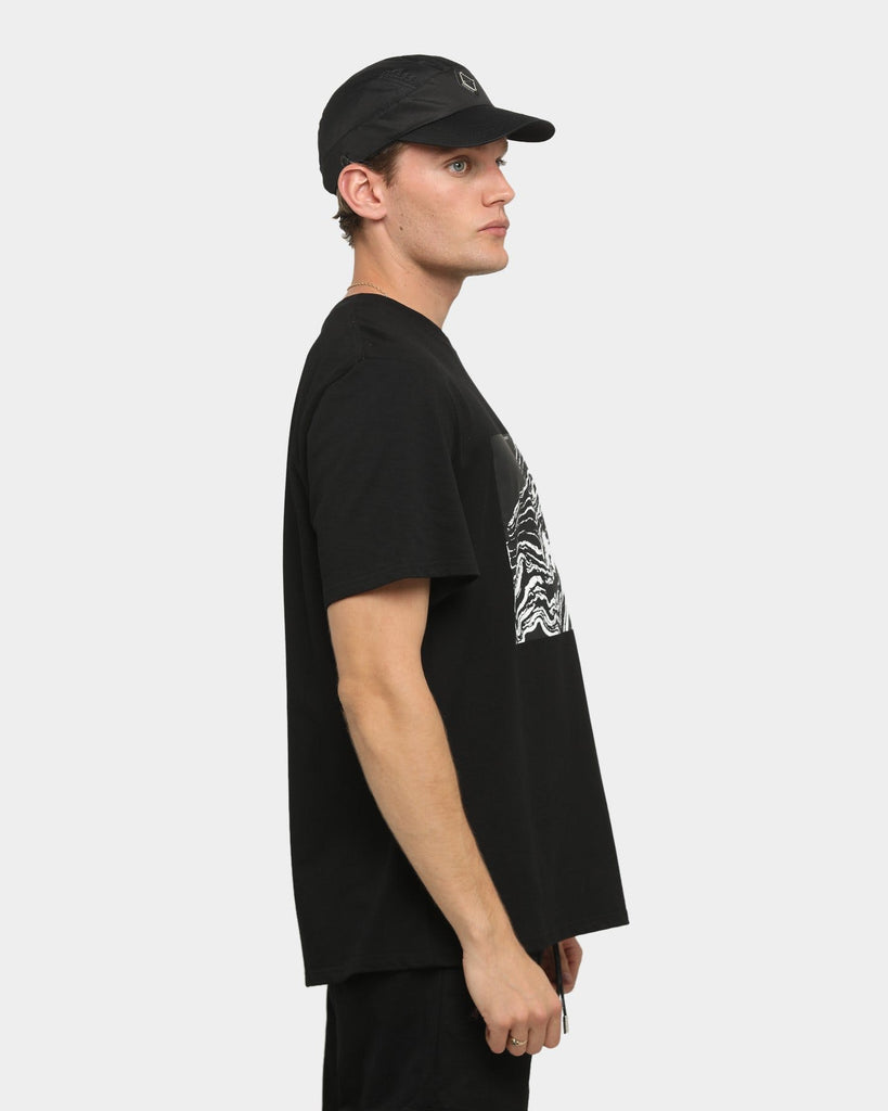 PYRA Topographic T-Shirt Black