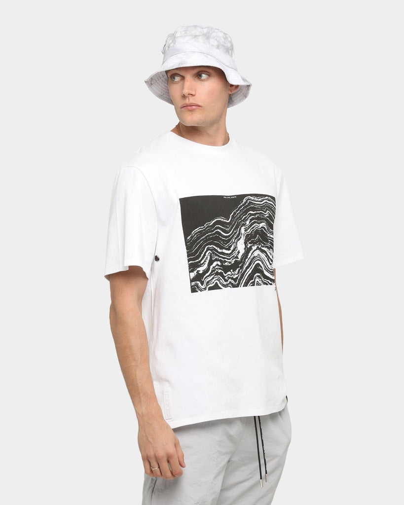 PYRA Topographic T-Shirt White