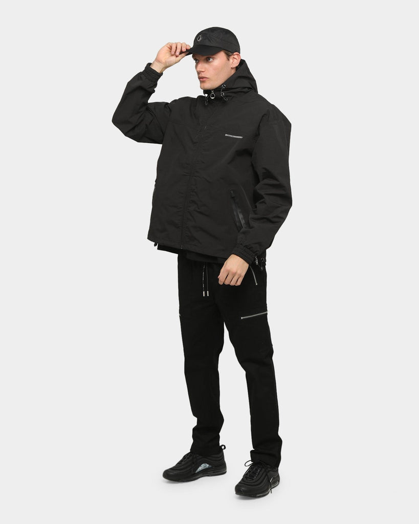PYRA Hooded Tech Jacket Black