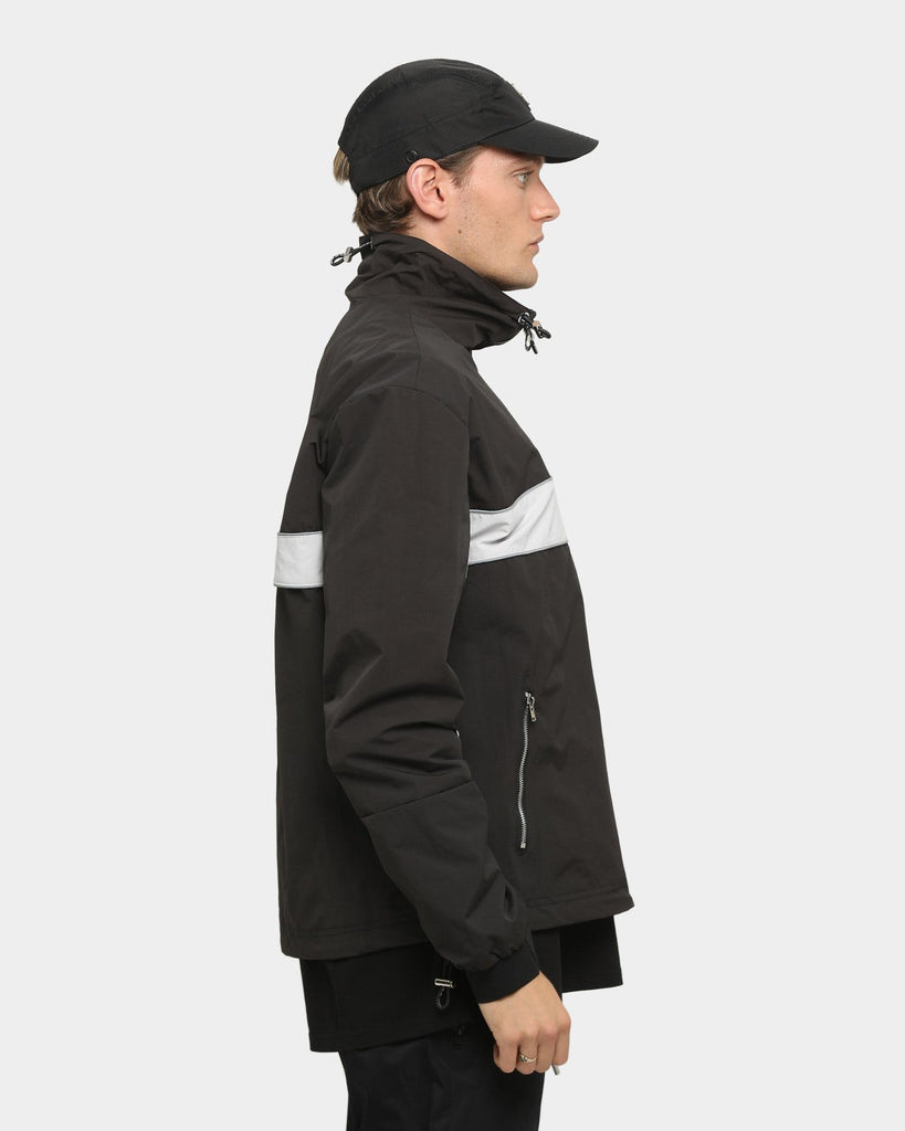 PYRA Packable Windbreaker Black/Grey