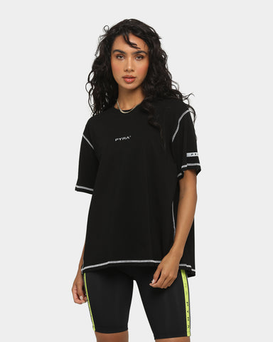 PYRA Women's Sweat Game T-Shirt Black