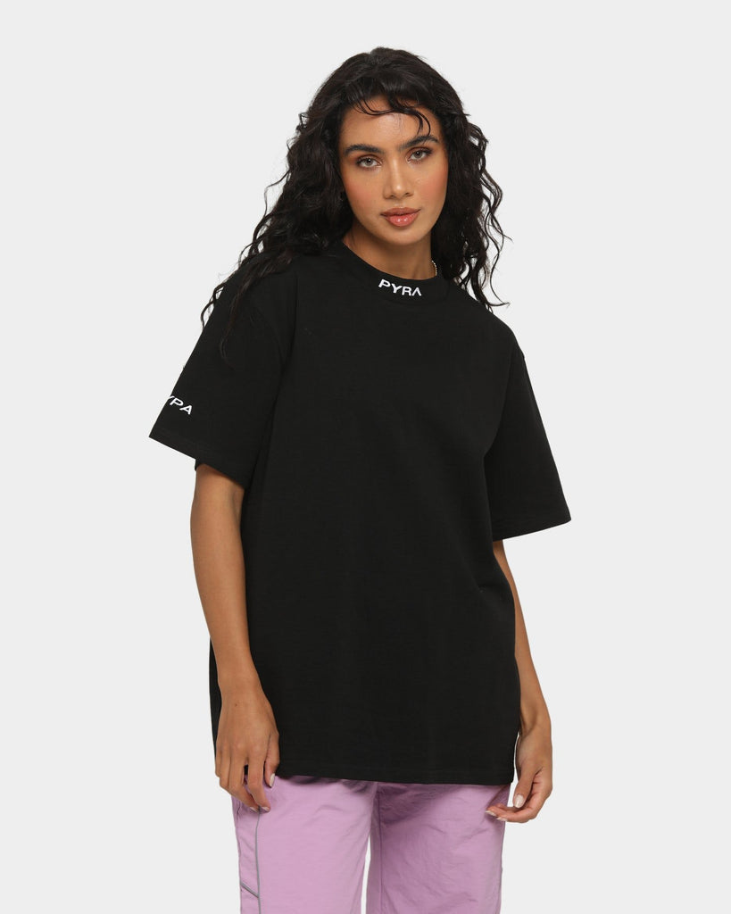 PYRA Women's Interplay T-Shirt Black