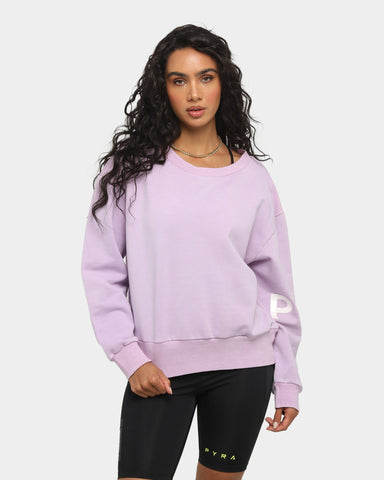 PYRA Women's Season Sweater Lilac