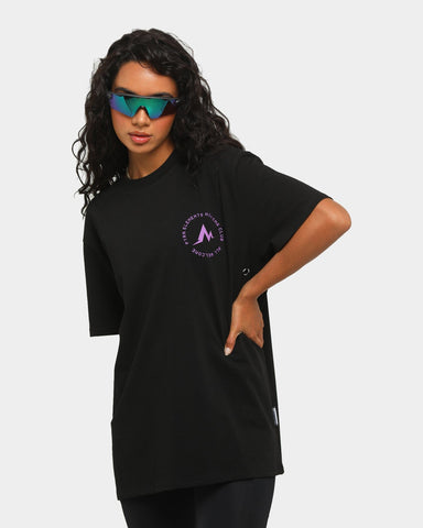 PYRA Women's Hiking Club T-Shirt Black