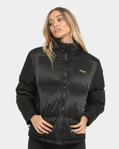 PYRA Women's Peak Padded Puffa Black