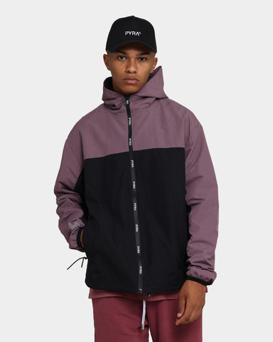PYRA Altitude Shell Jacket Black/Plum