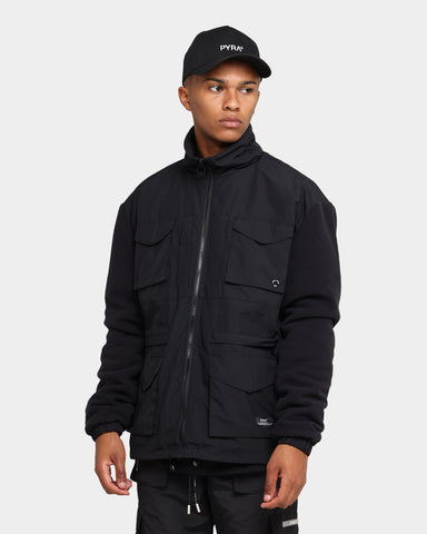 PYRA Polatec Alpine Jacket Black