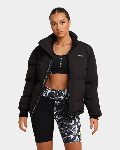 Pyra Women's Elements Padded Puffa Jacket Black