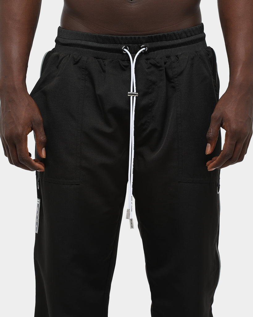 PYRA 3M Side Zip Pant Black